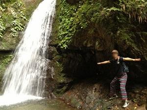 奥多摩御岳山七代の滝