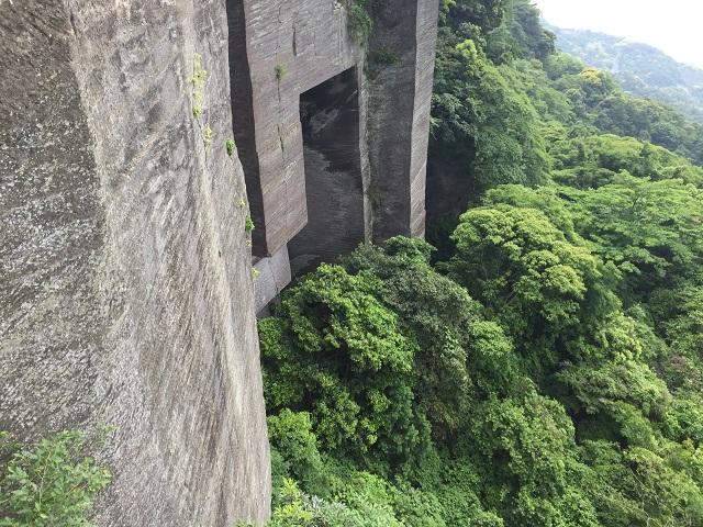 鋸山ラピュタの壁