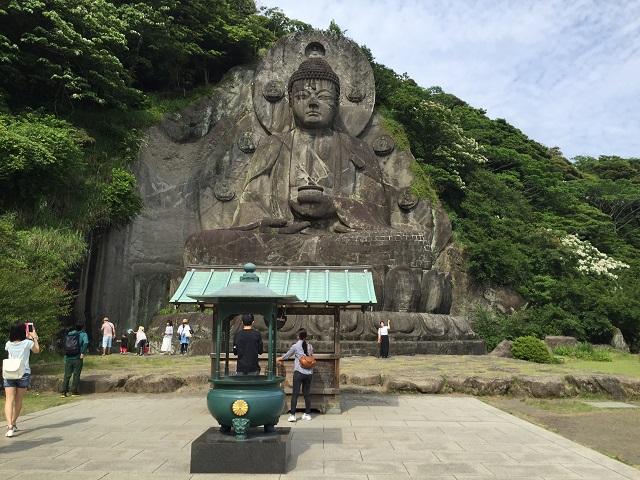 鋸山日本寺大仏