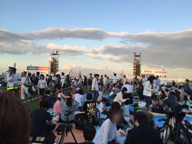 横浜開港祭花火大会臨港パーク