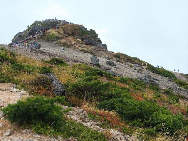 安達太良山登山コース