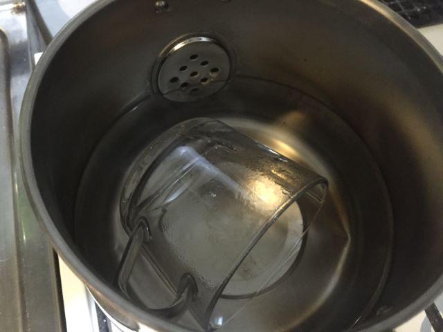 シール剥がす方法熱湯