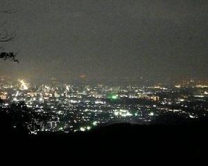 高尾山ナイトハイキング