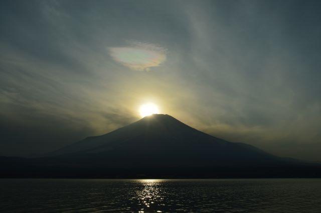 高尾山ダイヤモンド富士