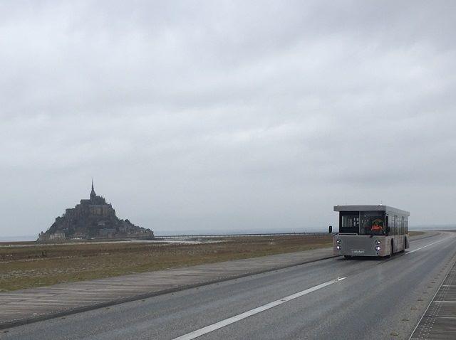 モンサンミッシェル無料バス