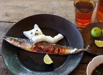 焼き魚温め直し