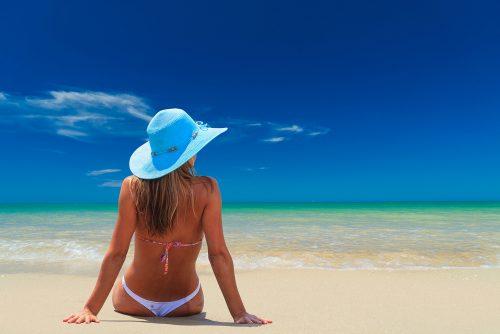 海,日焼け,ヒリヒリ,痛い,対処法,赤い顔,応急処置,美容ケア