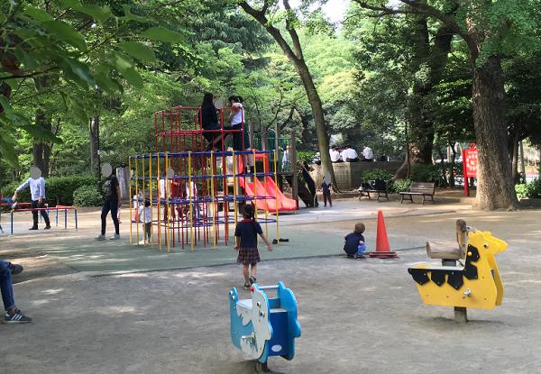 有栖川公園児童遊具