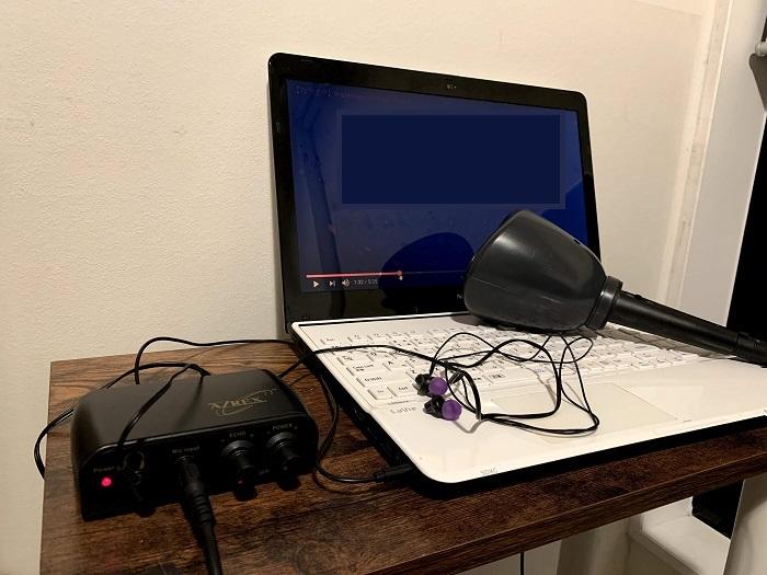 1人deカラオケDXパソコン